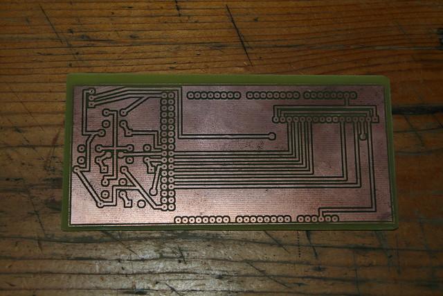 Arduino Mega LCD Shield Bottom View