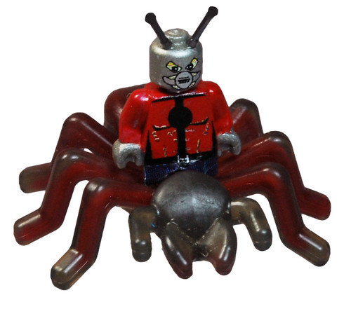 Ant Man Riding an Ant