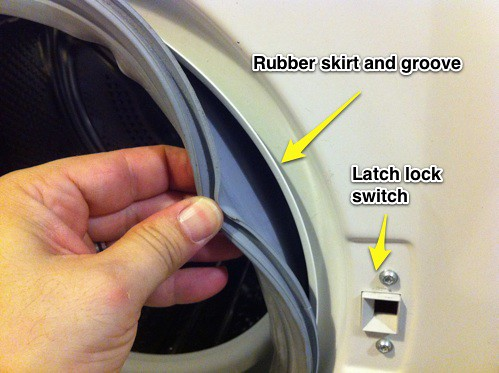 Bosch Axxis Washer Quot Door Open Quot Error And Repair