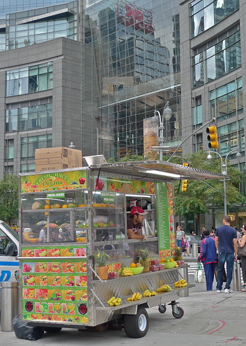 juice cart | columbus circle