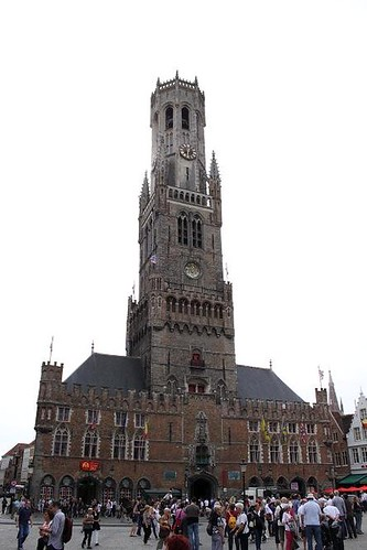 front view of belfry