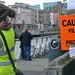 The Bollywood actor is filming scene's on the 1st day of the film 'Ek Tha Tiger' Dublin, Ireland