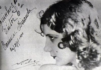 Carmen Miranda, circa 1930