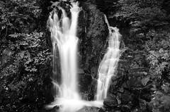 Waterfall Black and White (Bob Cornellier) Tags: bridge water river waterfall vermont niceshot covered brattleboro dummerston mygearandme