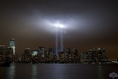 Tribute In Light 6 (Hepcat75) Tags: dedication night liberty evening newjersey memorial jerseycity remember anniversary 911 nj dedicated neverforget september11th libertystatepark nineeleven tenthanniversary libertypark 10thanniversary septembereleventh alwaysremember 10anniversary