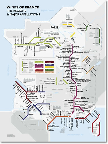 Creative Subway Map.Purple Liquid A Wine And Food Diary Something New And Creative A