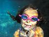 (GillyJLevy) Tags: lighting atlanta reflection cute water girl georgia underwater bubbles innocence littlegirl bliss gogles reflectionoflight