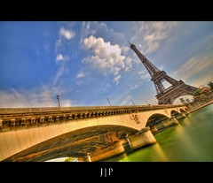Pont d'Iena - Tour eiffel - Paris (J P | Photography) Tags: life wallpaper sky cloud paris france tower apple monument seine clouds photoshop french photography mac aperture nikon raw imac tour angle cloudy photos eiffeltower eiffel ps jour ciel jp pont capitale uga nikkor dame nuage français hdr hdri tourisme carrousel francais touristique 1024 pontdiena photographe iena expositionlongue photomatix damedefer pontiena niksoftware jpphotography 1024mm d7000 hdr7raw djpig91