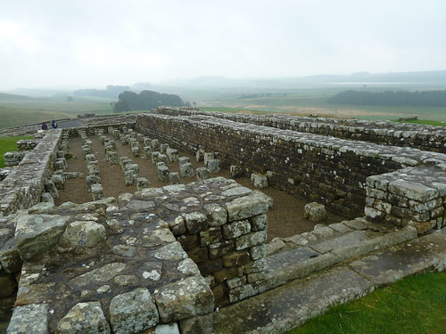 Granaries at Housesteads