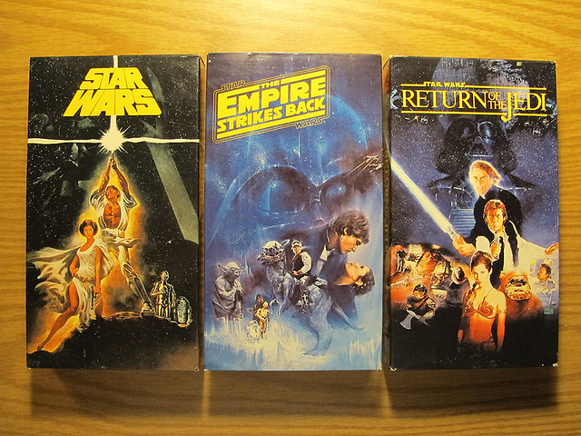 Star Wars Trilogy On VHS Original Version