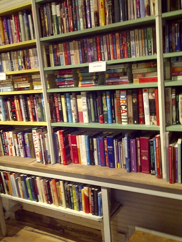 Used Books in Novel Places