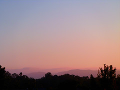 Coastal Hills (Susan Liepa) Tags: california sunset fog hills coastal orangecounty