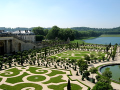 Orangerie 1 (rosewithoutathorn84) Tags: trees france building green history beauty gardens architecture garden french landscape estate jardin palace versailles views histoire ornate baroque chateau rococo francais orangerie