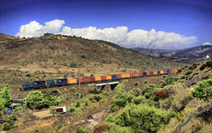 Fepasa, Henry Meiggs. (DeutzHumslet) Tags: chile locomotive m2 hdr freight containers fepasa llayllay 2350 2353 cargueros sd39