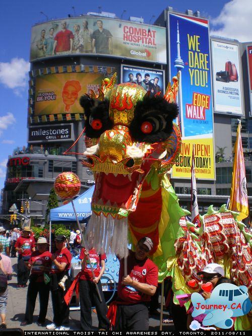 Chinese Dragon at Dundas Square