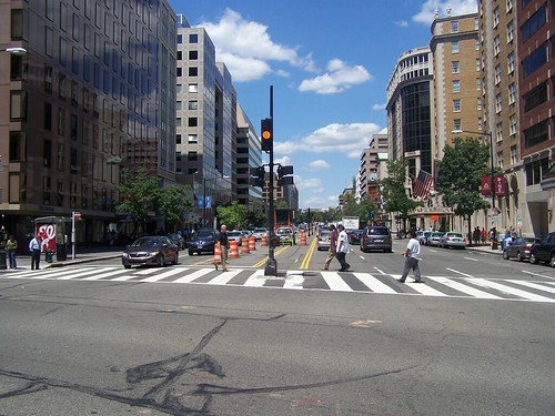 street median, Connecticut Avenue, between L and M Streets