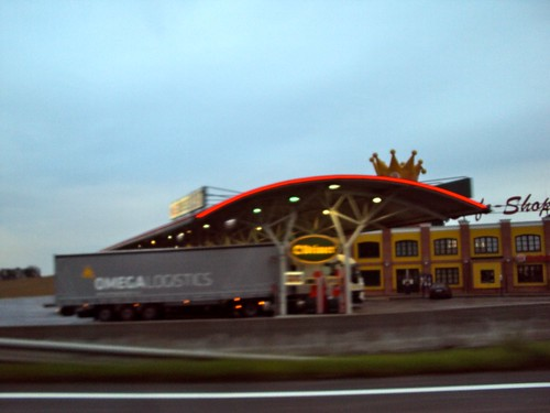 Preparation for Road trip: Budapest to Cologne, Burger King's crown in Austria