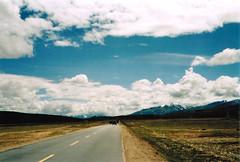 Highway (Owen Wong (Thank you)) Tags: landscape highway kodak olympus tibet 西藏 公路 μii