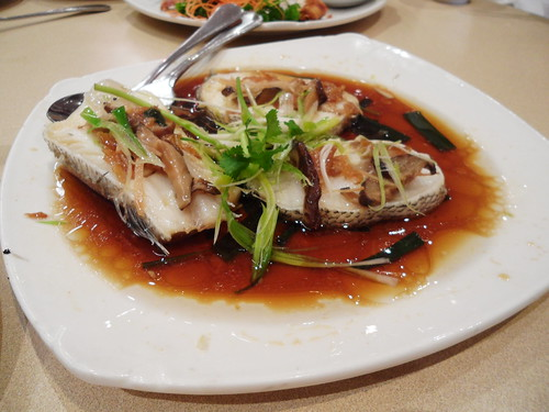 Steamed Toothfish