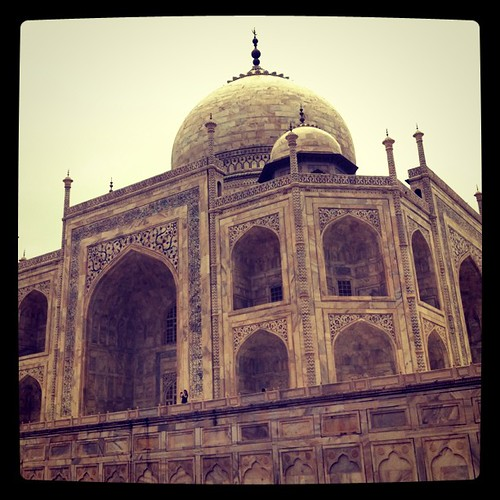 Taj Mahal. Beauty beyond words. #india