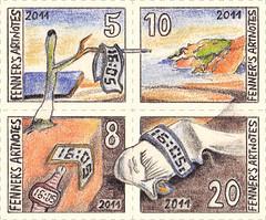 FPM# 37 - Miniature sheet (appadaumen_de) Tags: art miniature office post time stamps kunst stamp memory salvador sheet dali postage marken marke persistence artistamp the artistamps briefmarken fenner briefmarke artstamps blocl appadaumen artnotes