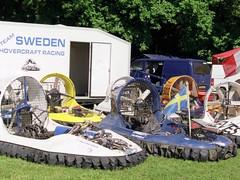 Schwedisches Hovercraft Team