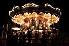 La Felicit nel tornare bambini. (franc3sc093) Tags: parco giostra cavalli barcellona tibidabo divertimento