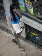 street woman canada female pedestrian oldmontreal smoker levieuxmontreal professorbopdrjazzolympuse5nycmontreal