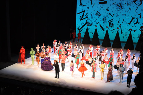 Curtain Call - Alice's Adventures in Wonderland © ROH 2011