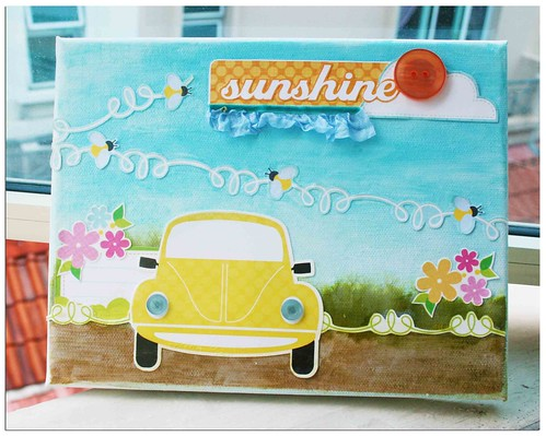 Sunshine canvas