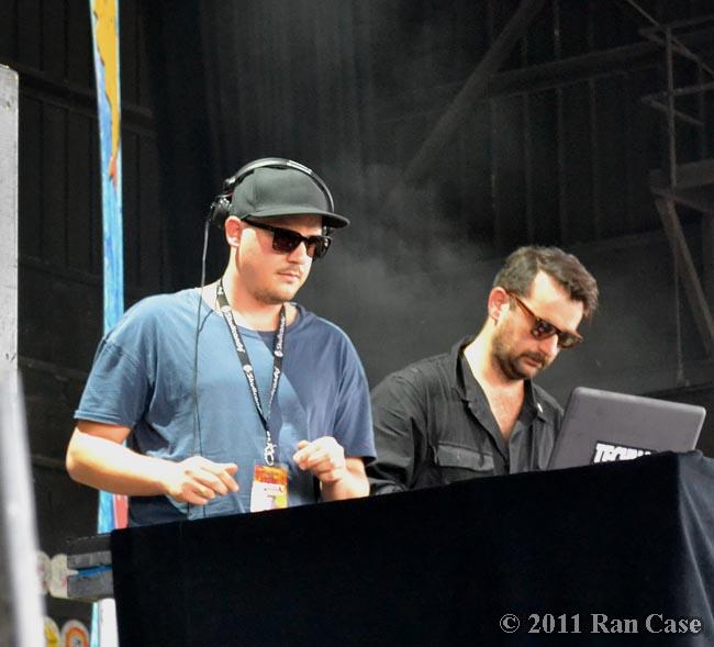 Modeselektor @ Identity Festival, Burgettstown PA @2011 Ran Case