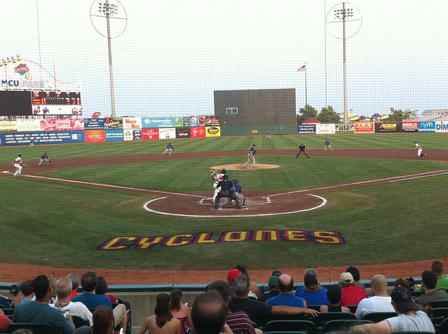 Coney Island's own, Brooklyn Cyclones