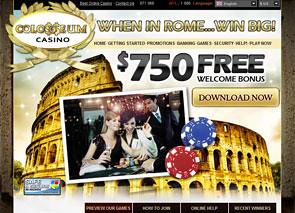 Colosseum Casino Home