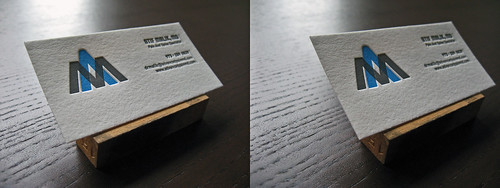 Doctor's Letterpress Business Card