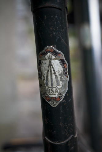 BSA Vintage Headbadge
