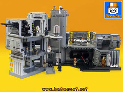 Death Star World (baronsat) Tags: world death star lego collection micro kenner diorama
