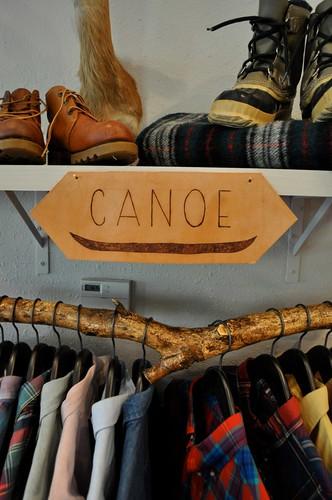 Canoe at D &P