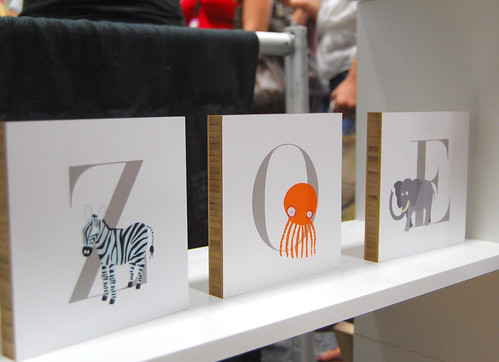 Paper Culture letter wall art