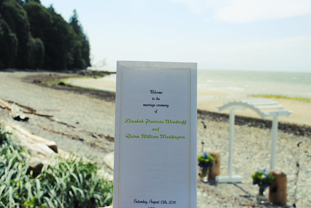 Program + Beach Ceremony