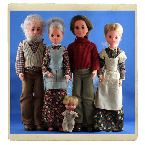 ADAW 34/52 1975 Mattel Sunshine Family