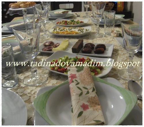 2011 Ramazan...iftar sofrası