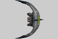 crescent fighter (the lordimaginator) Tags: set star fighter lego crescent wars 01006