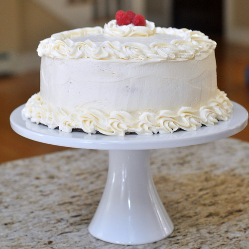 Raspberry-Lemon Heart Cakes Recipe — Dishmaps