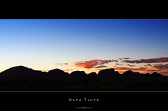 Kata Tjuta (Daniel Wildi Photography) Tags: road sunset red sky color rock clouds river airport highway colorful oz alice ngc central australia grand center mount springs dome uluru giles olga aboriginal ernest northern ayers katatjuta formations 2007 territory pitjantjatjara yulara theolgas docker dreamtime ulurukatatjutanationalpark erldunda lasseter danielwildi|photography wanambi