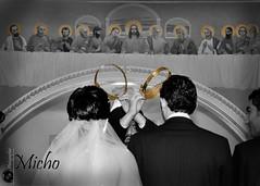 Crowns (Micho Photographer) Tags: wedding church bride nikon miami syria crown damascus  d90