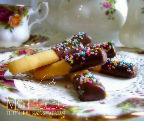 biskut jejari coklat