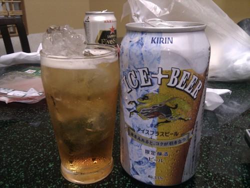 アイスプラスビール!