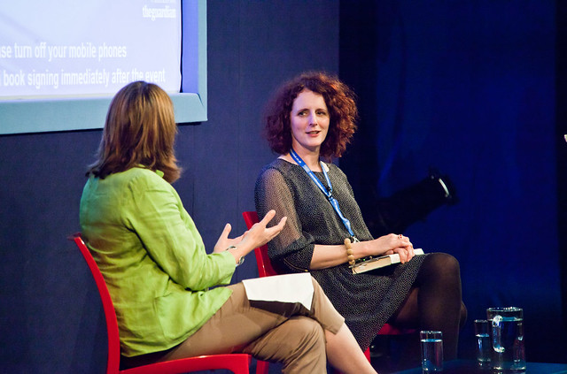 Maggie O'Farrell and Jenny Brown