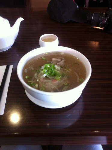 Pho with Medium Rare Beef by raise my voice