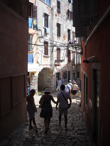 Tourists' Explorations, Rovinj, Croatia